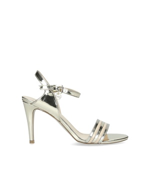 1f3d48fb696 Pippy Metallic Open Toe Strappy Sandals by Miss KG by Kurt Geiger