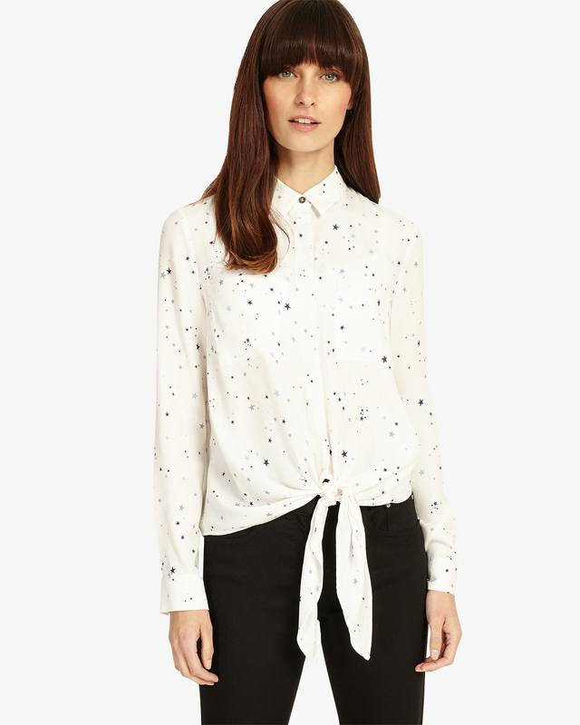 Enjoy Sale Online Phase Eight Galaxy Star Print Shirt Discount Latest Collections Low Shipping Fee Sale Online B7DjbwPi