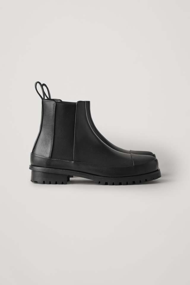 Chunky Sole Chelsea Boots   Endource