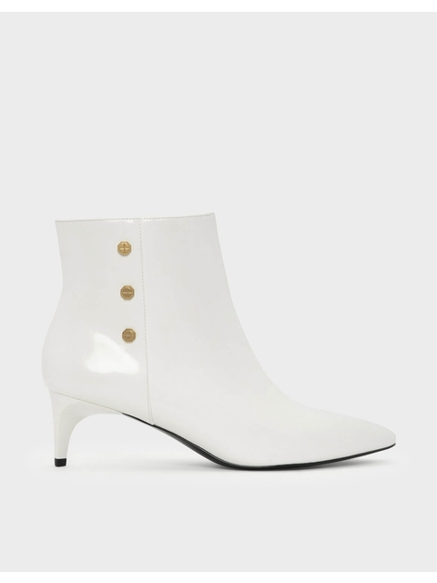 e550cd32297 Screw Stud Detail Ankle Boots