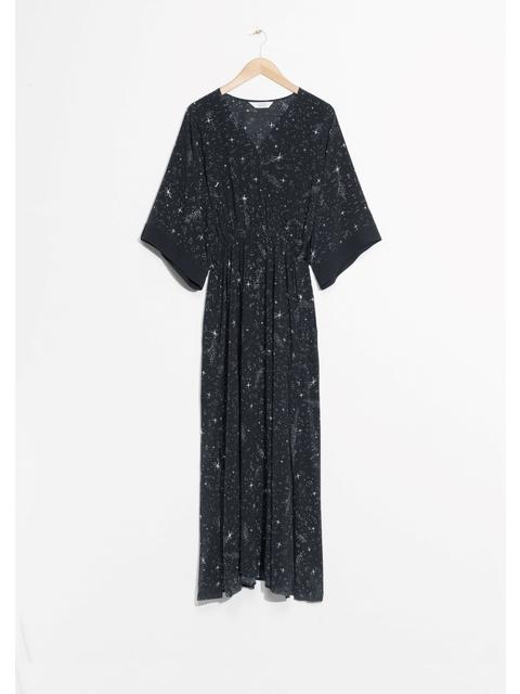 22a1fe94c9 Starry Sky Print Dress