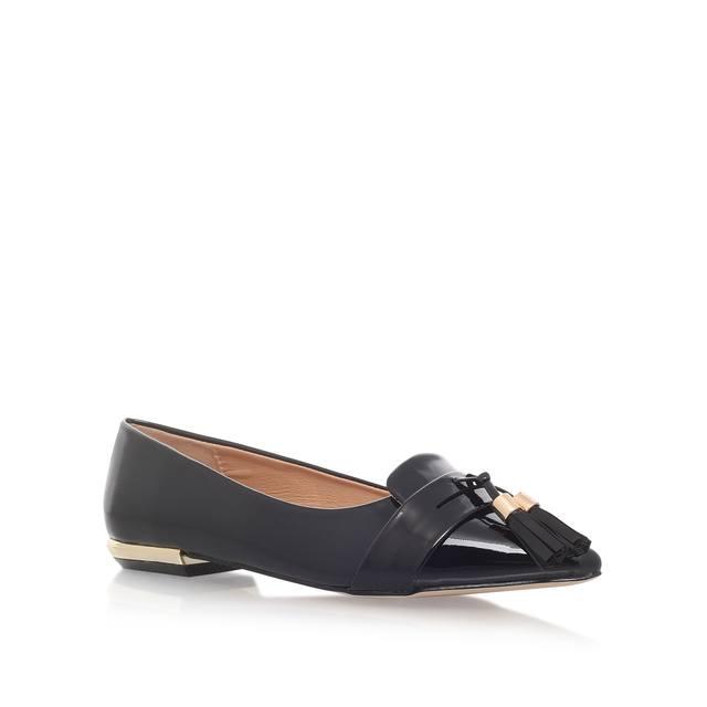 0f36eba68 Nikki Black Flat Ballerina Shoes