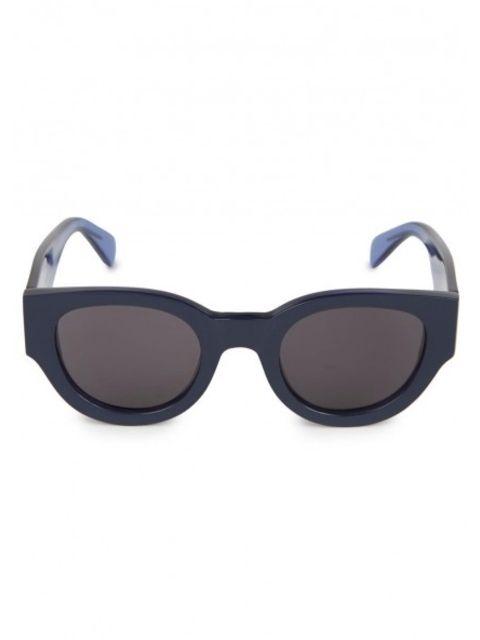 b492e53788b Wide arm transparent acetate sunglasses