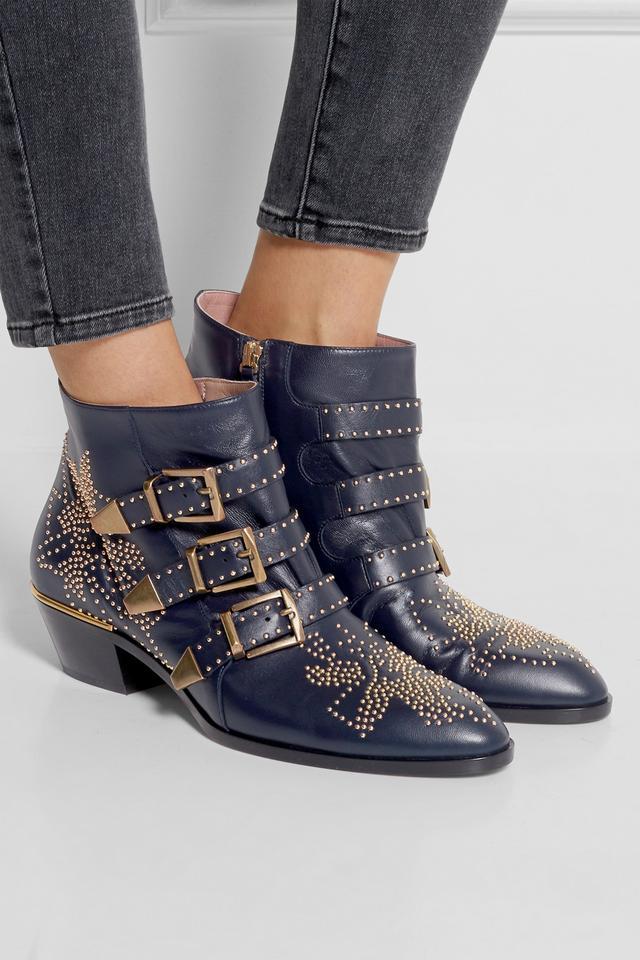susanna studded ankle boots endource. Black Bedroom Furniture Sets. Home Design Ideas