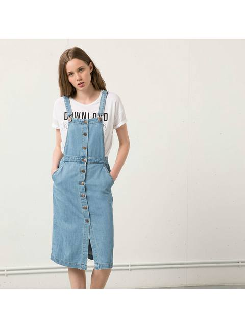 32670790c8d02 Denim dungaree dress | Endource