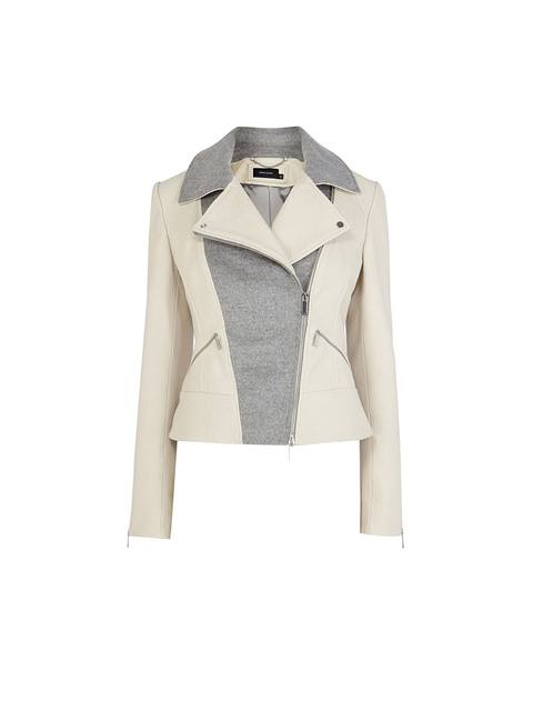 choose clearance top-rated official well known Pastel Leather Biker Jacket