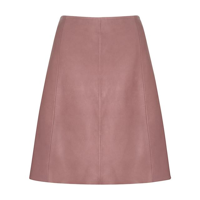 a line leather skirt endource