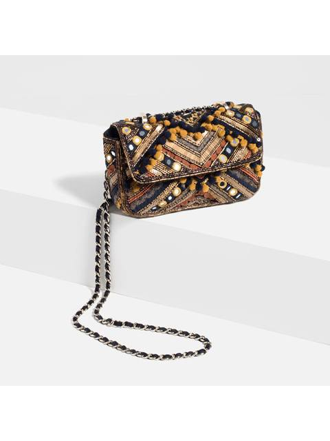 1d83a5c52c9 Embroidered Cross-Body Bag   Endource