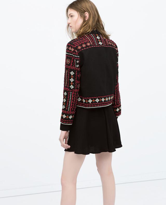 Ethnic embroidered jacket endource
