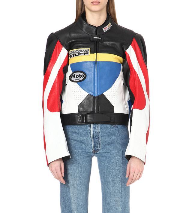 allsaints uk leather jackets for women now - Color Block Vetement