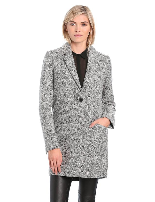 Women's Straight Wool Car Coat | Endource