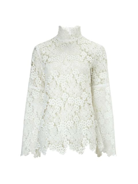 a67182a81 Lace Bell Sleeve Blouse   Endource