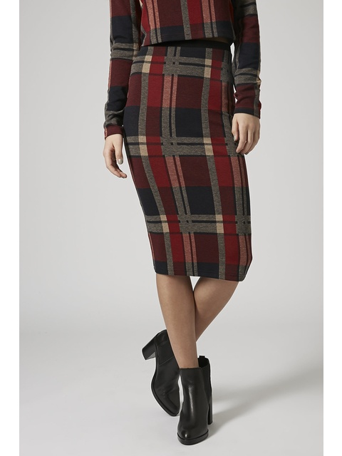 d0e25b303b Blanket Check Tube Skirt | Endource