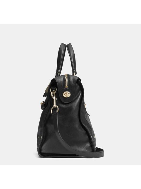 35a01491afb4 RHYDER 33 satchel in soft grain leather