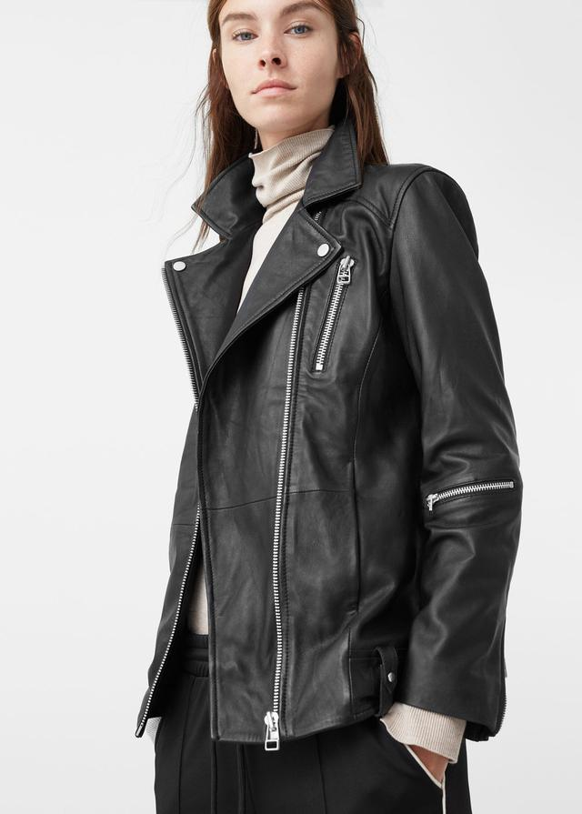 2019 clearance sale detailed images crazy price Oversized Biker Jacket