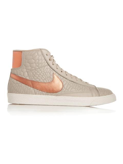 ff16a7d51f6b Blazer Croc-Effect High-Top Sneakers