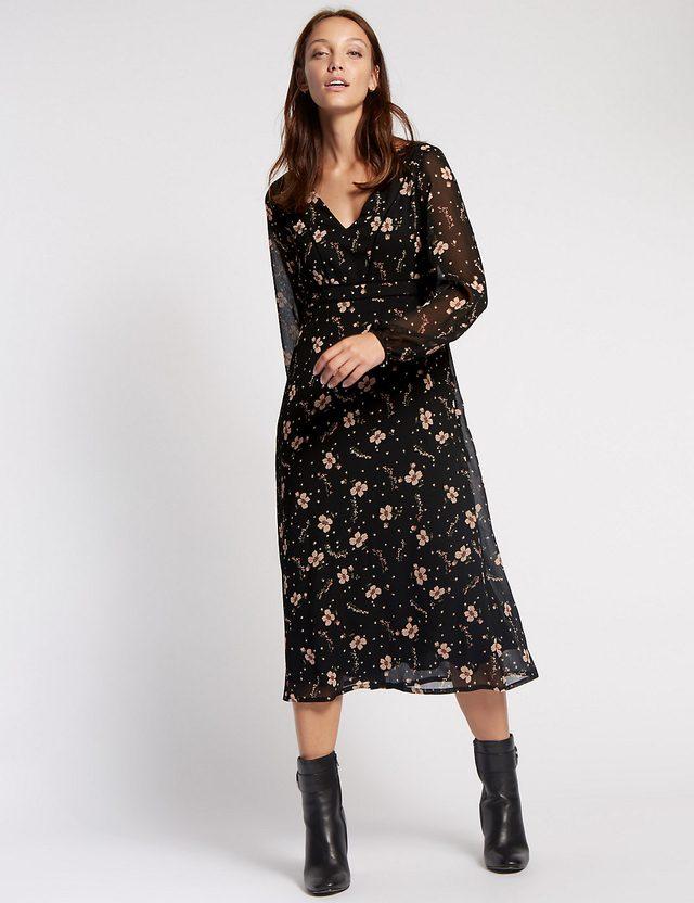 Floral Dress Marks And Spencer