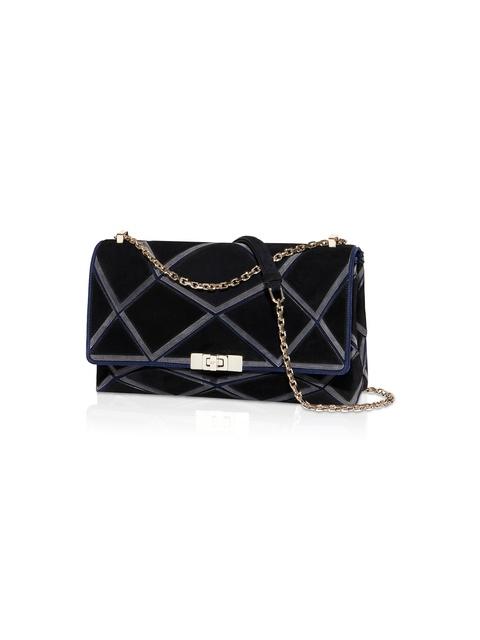 Prismick Small Shoulder Bag in Suede  acf1efb4ec421