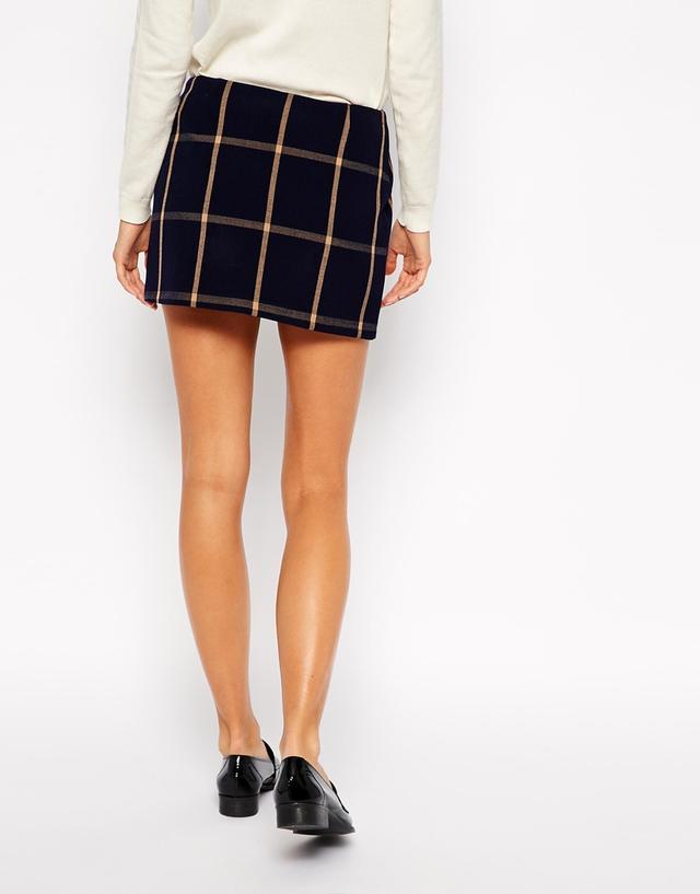 Checked Mini Skirt | Endource