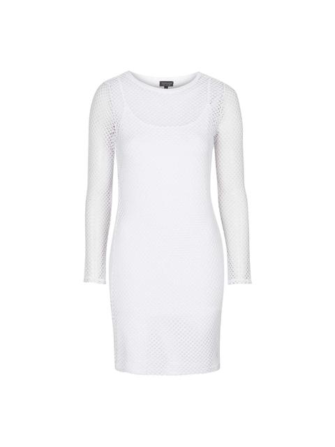 Mesh Bodycon Mini Dress  f6bf6a101