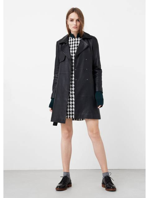85246ab595d Houndstooth Pattern Dress