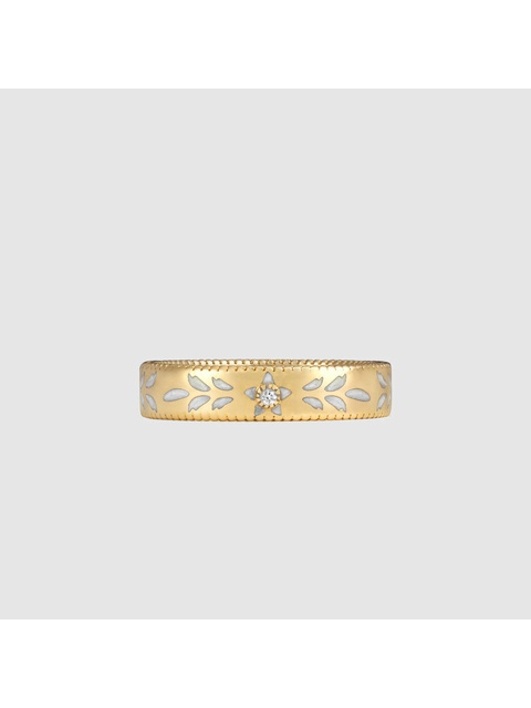 d41e0033cad Yellow Gold and Diamond Icon Ring