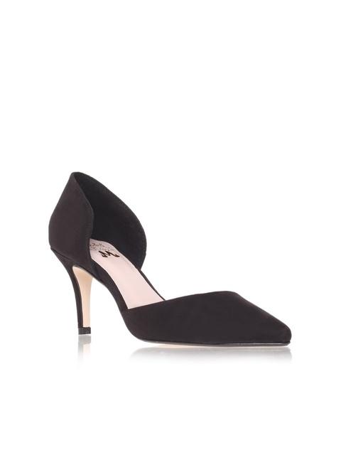d71287e06243 CELINA Black mid heel court shoes