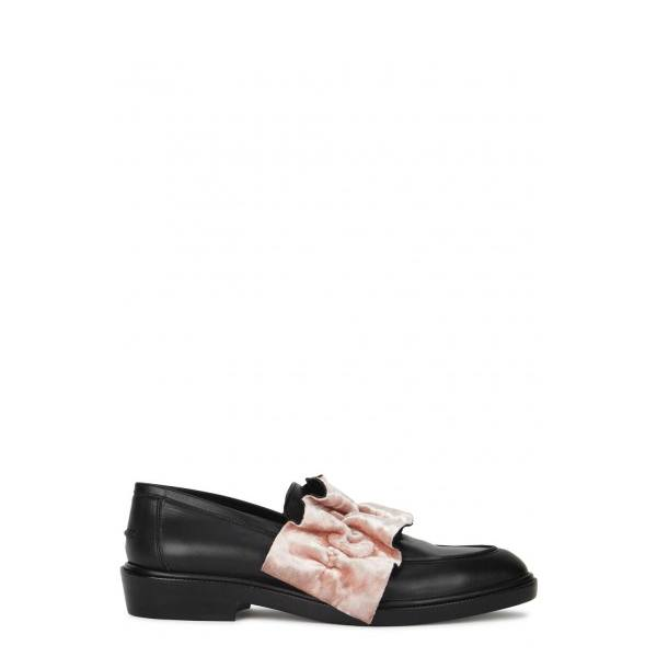 Msgm Leather Loafers 8DQGRLYE