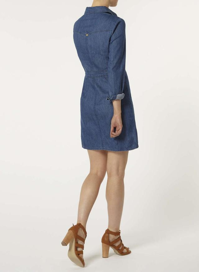 Denim tunic dress dorothy perkins