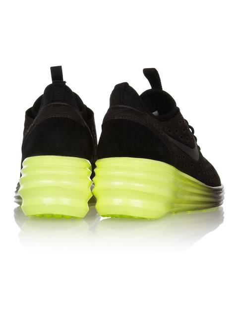 best website 999fd 42cd6 LunarElite Sky Hi canvas and suede wedge sneakers   Endource