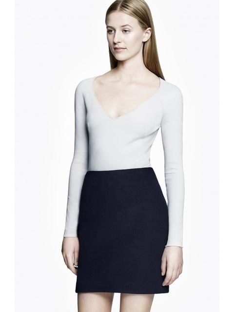 3f326e822b97d Mini Skirt Wool Bonded Wool