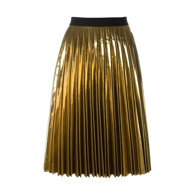 pleated a line skirt endource