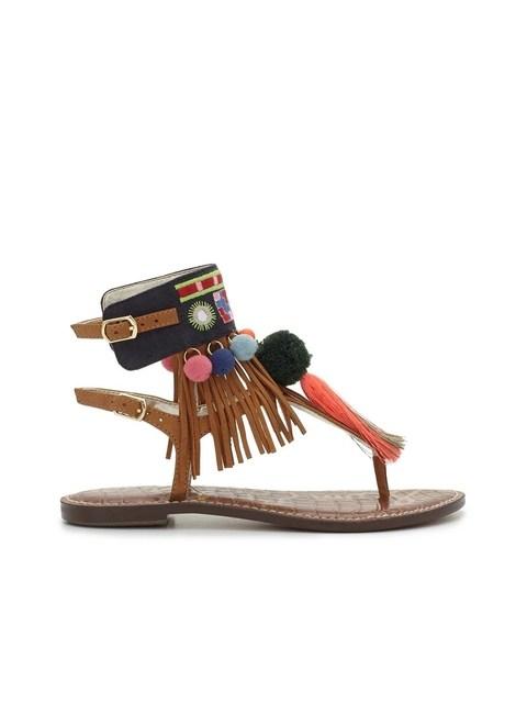 f6417ff58f647 Gere Tassel Sandal